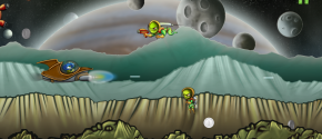 Martian Hovercraft Wars